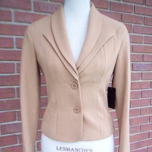 L.A.M.B.  Jacket Blazer Light Caramel Brown US 2